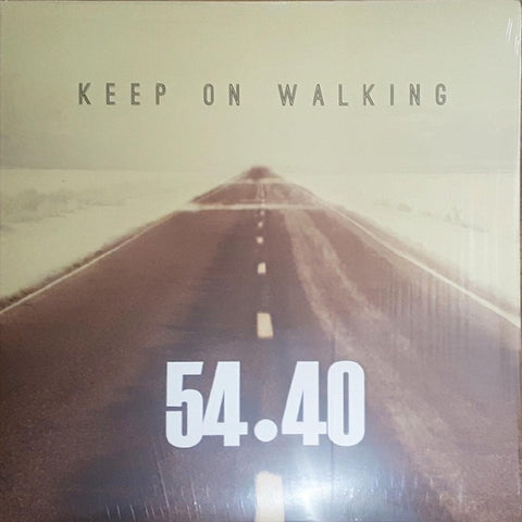 54-40 - Keep On Walking (Orange vinyl)