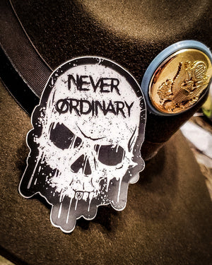 Never Ordinary Sticker