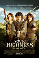Your Highness Unrated Edition HD VUDU ITUNES, MOVIES ANYWHERE, CHEAP DIGITAL MOVEIE CODES CHEAPEST