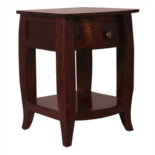Momsen Bed Side Table In Sheesham Wood