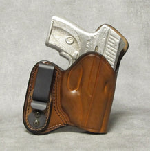 Ruger LC9 (Crimson Trace) IWB w/ Sweat Shield Leather Holster