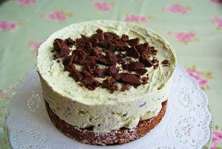 Mint CHOC Chip Cheesecake