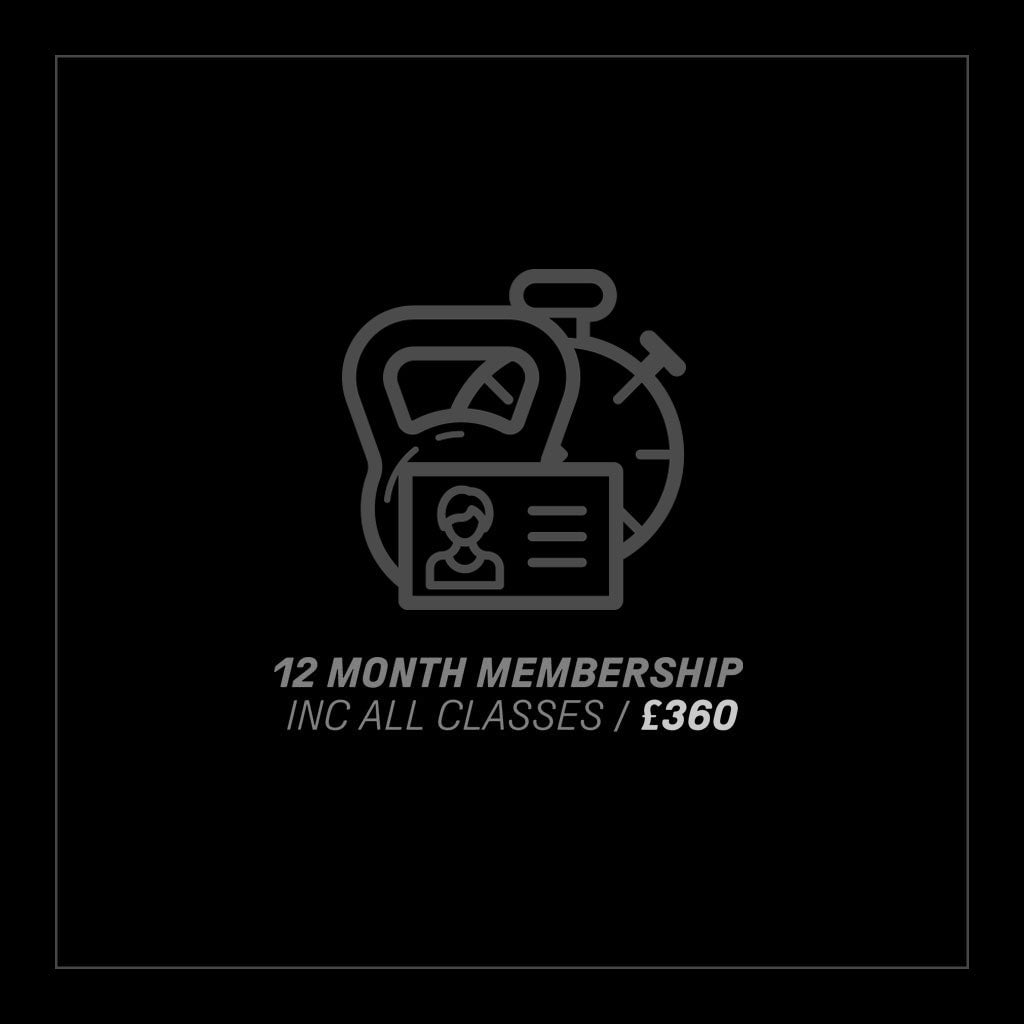 12 Months Gym Membership inc. All Classes