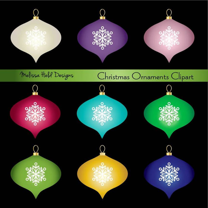 Christmas Ornaments Clipart Cliparts Melissa Held Designs    Mygrafico