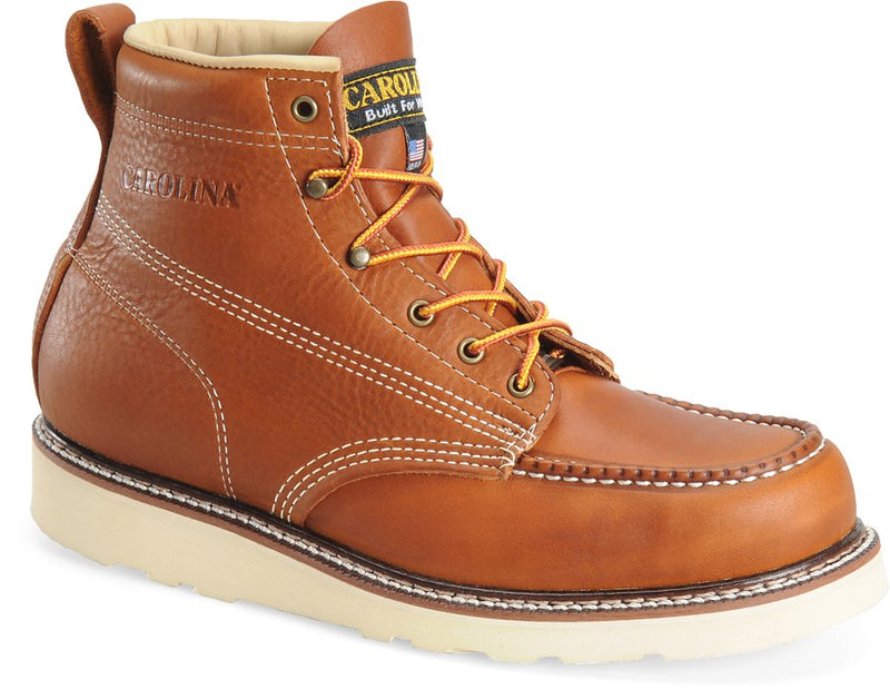 Carolina 7003 Domestic Moc Toe Work Boots