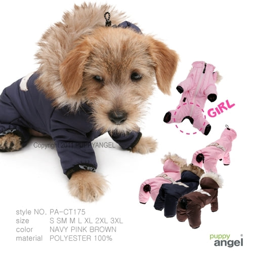 Puppy Angel Urban Jungle Overalls PA-CT175