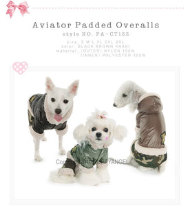 Puppy Angel Aviator Padded Overall PA-CT133