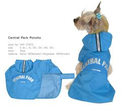 Puppy Angel Central Park Poncho PA-CT013
