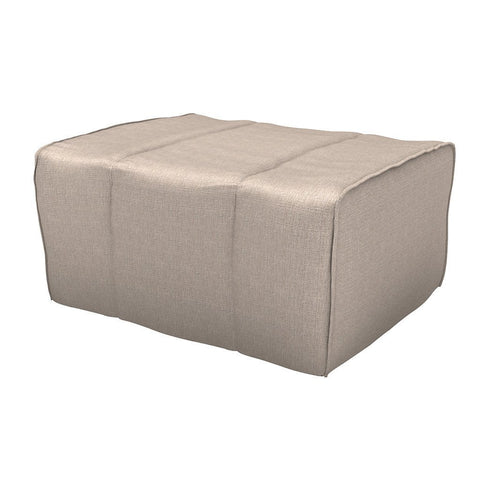 "Insignia Folding Bed Pouf Cum Bed with 3.5"" Mattress (Grey)"