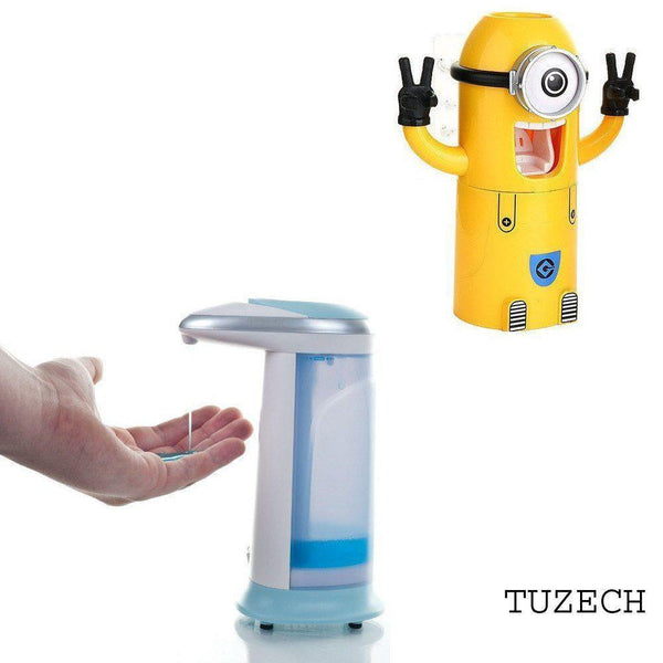 Combo - Combo Minion Toothpaste Dispenser And Plastic Soap Dispenser