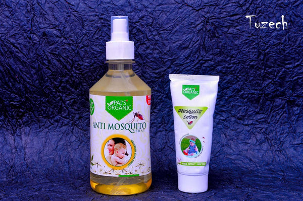 Organic - Combo Organic Anti Mosquito Lotion And Anti Mosquito Scented Gel