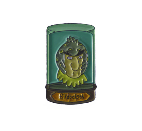 BIRDPERSON JAR HEAD PIN