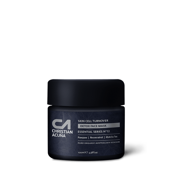 Skin cell turnover. Detox face mask - Christian Acuña Skincare