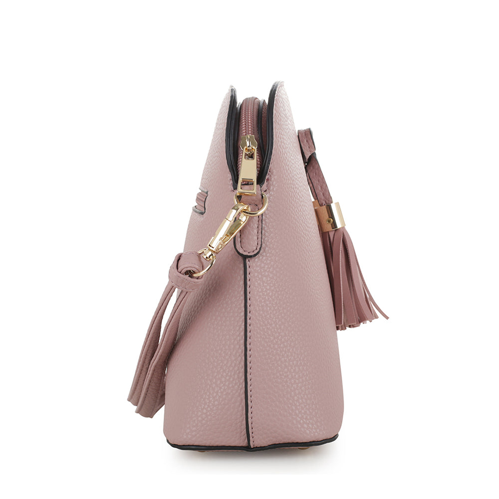 Olivia Triple Compartment Crossbody Bag