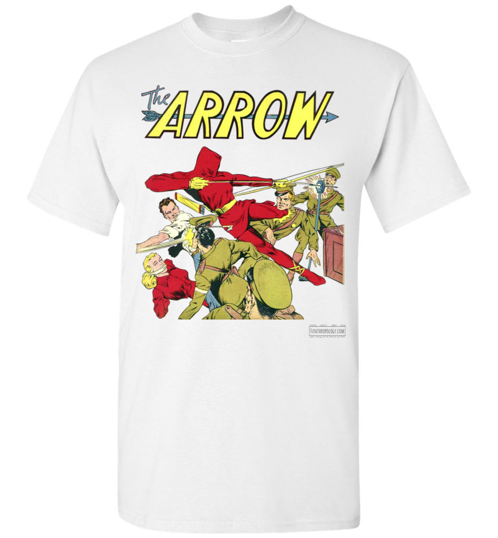 The Arrow No.3 T-Shirt (Unisex, Light Colors)