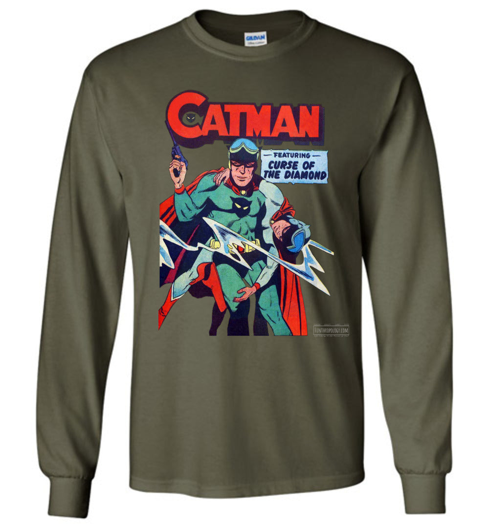 Catman No.16 Long Sleeve (Unisex Plus, Dark Colors)