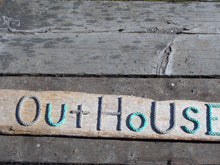 The OUTHOUSE -funky rope letters