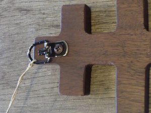Orthodox Teak Wooden Cross