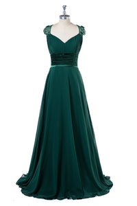Beading Chiffon Pleated Bridesmaid Dresses