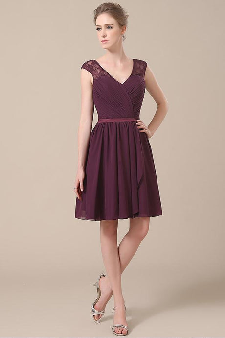 Glorious Chiffon Zipper Bridesmaid Dresses