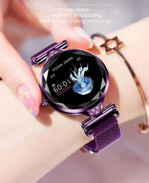 Luxury Women Smartwatch - Keep Yourself Stylish and Elegant in Every Occasions