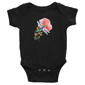 Watercolor Dragonfly I Infant Bodysuit