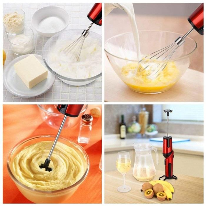 Cordless Mixer | Cordless Beats | Wonderper Cordless Hand Mixer | Battery Operated Mixer | Rechargeable Hand Mixer | Battery Hand Mixer Home & Garden > Kitchen & Dining > Kitchen Appliances > Food Mixers & Blenders Wonderper