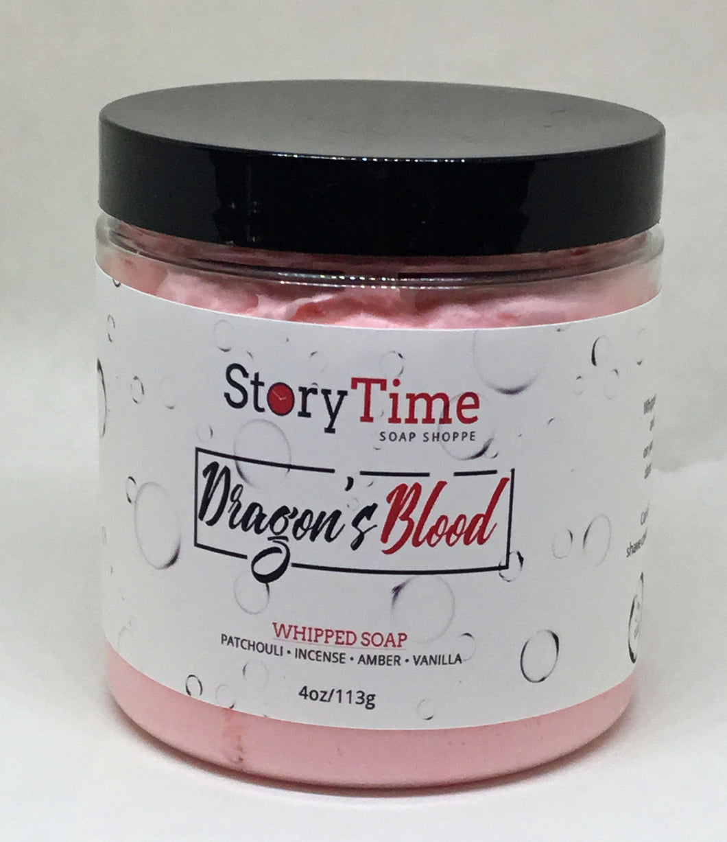 Dragon's Blood Whipped Facial Soap