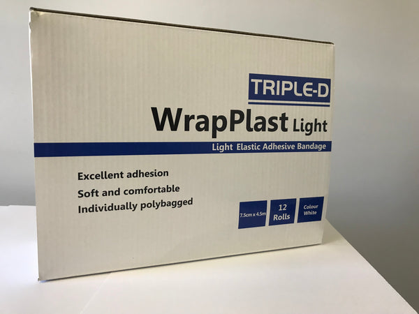 Triple-D WrapPlast Light White 4.5m