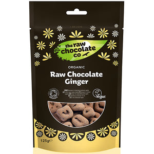 Raw Chocolate covered Ginger Organic