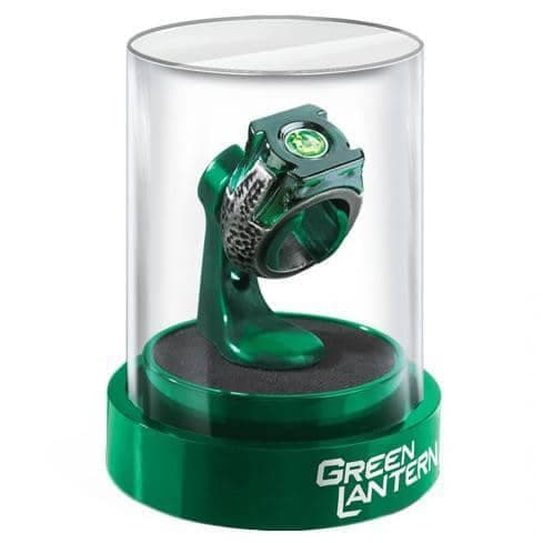DC Comics Green Lantern Prop Replica Power Ring and Display Case