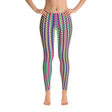 Colorful Geometric Women's Leggings