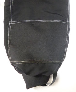 Cordura bottom back legs