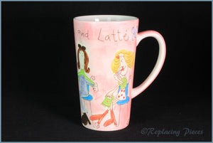 RPW48 - Whittards - Latte Mug (Lippy & Latte)
