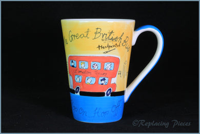 RPW53 - Whittards - Latte Mug (British Bus)