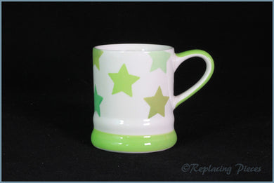 RPW55 - Whittards - Mini Mug (Green Stars)