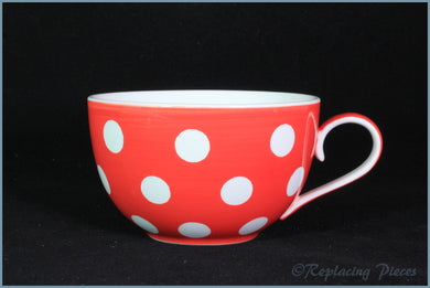 RPW59 - Whittards - Breakfast Cup (Red Spotty)