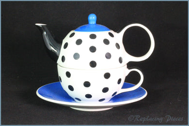 RPW62 - Whittards - Tea 4 One (White, Black & Blue)