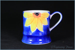 RPW72 - Whittards - Tankard Mug (Sunflower)