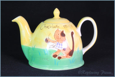 RPW77 - Whittards - Choccie Fun 2 Pint Teapot