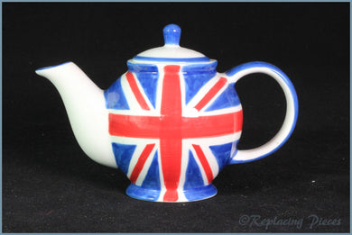 RPW78 - Whittards - Union Jack Miniature Teapot