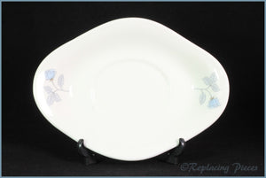 Wedgwood - Ice Rose - Gravy Boat Stand ONLY