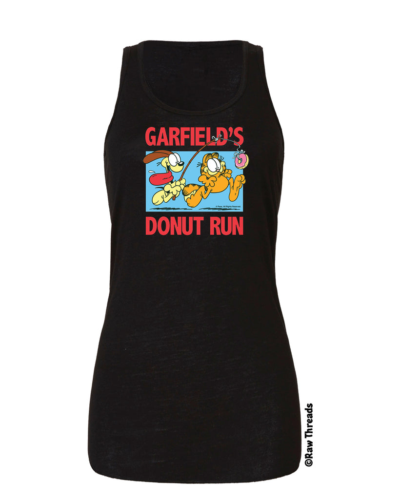 Garfield's Donut Run Official Event Tee