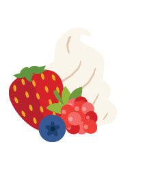 Berries 'N Cream E-liquid - MAX VG