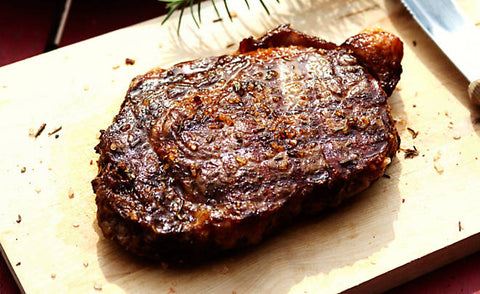 100% Grass Fed Ribeye Steak 2pc/12oz