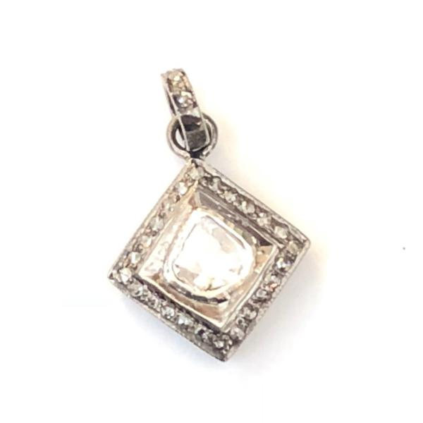 ROSE CUT PENDANT - DIAMOND - A.FIER LIFESTYLE