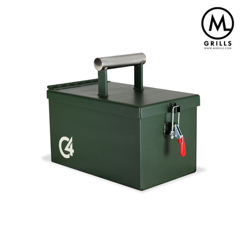 M Grills HOME - KITCHEN - GRILL M Grills, C4 Portable Grill, Forest Green