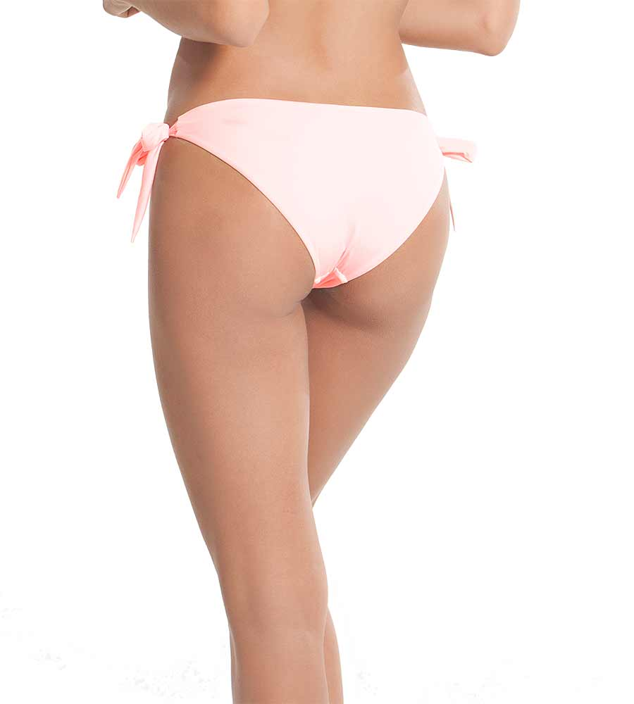 PINK TAN KNOT A DREAM BIKINI BOTTOM BY KAYOKOKO