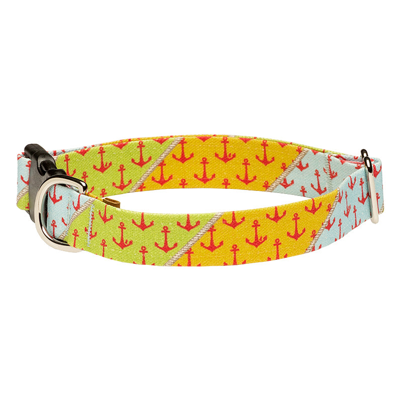 Our Good Dog Spot Yachtsmans Anchor Dog Collar