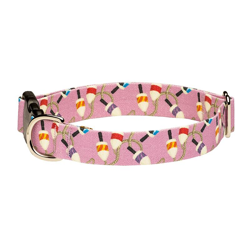 Our Good Dog Spot Salty Buoys Dog Collar Purple
